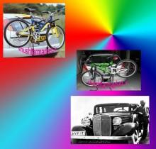فروش دوچرخه بند بر روی ماشین