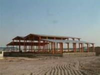 پوشش سقف سوله-اجرای پوشش سقف شیبدار-اجرای خرپا-اردواز-اجرای شیروانی