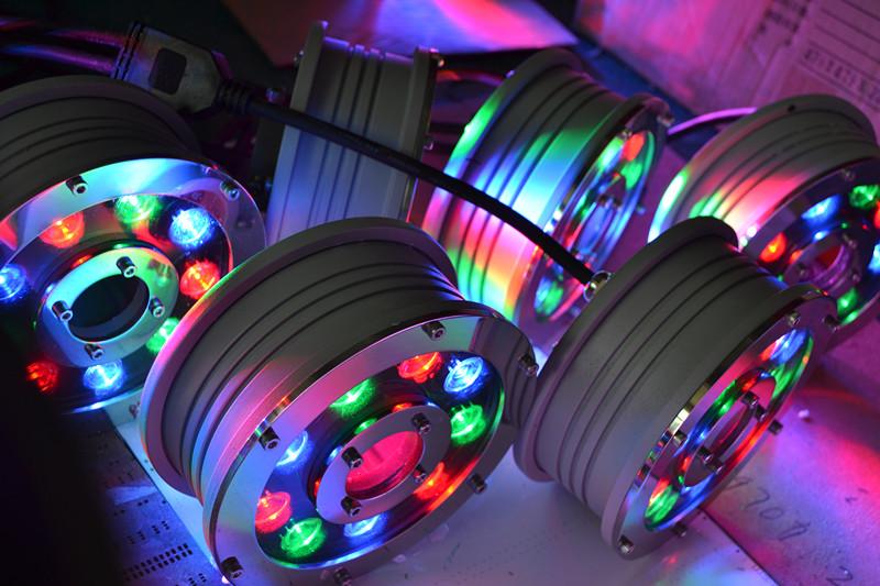 چراغ داخل آبی LED