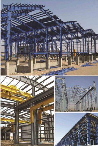 سوله سازی سازه صنعتی – اسکلت فلزی | آگهی 24